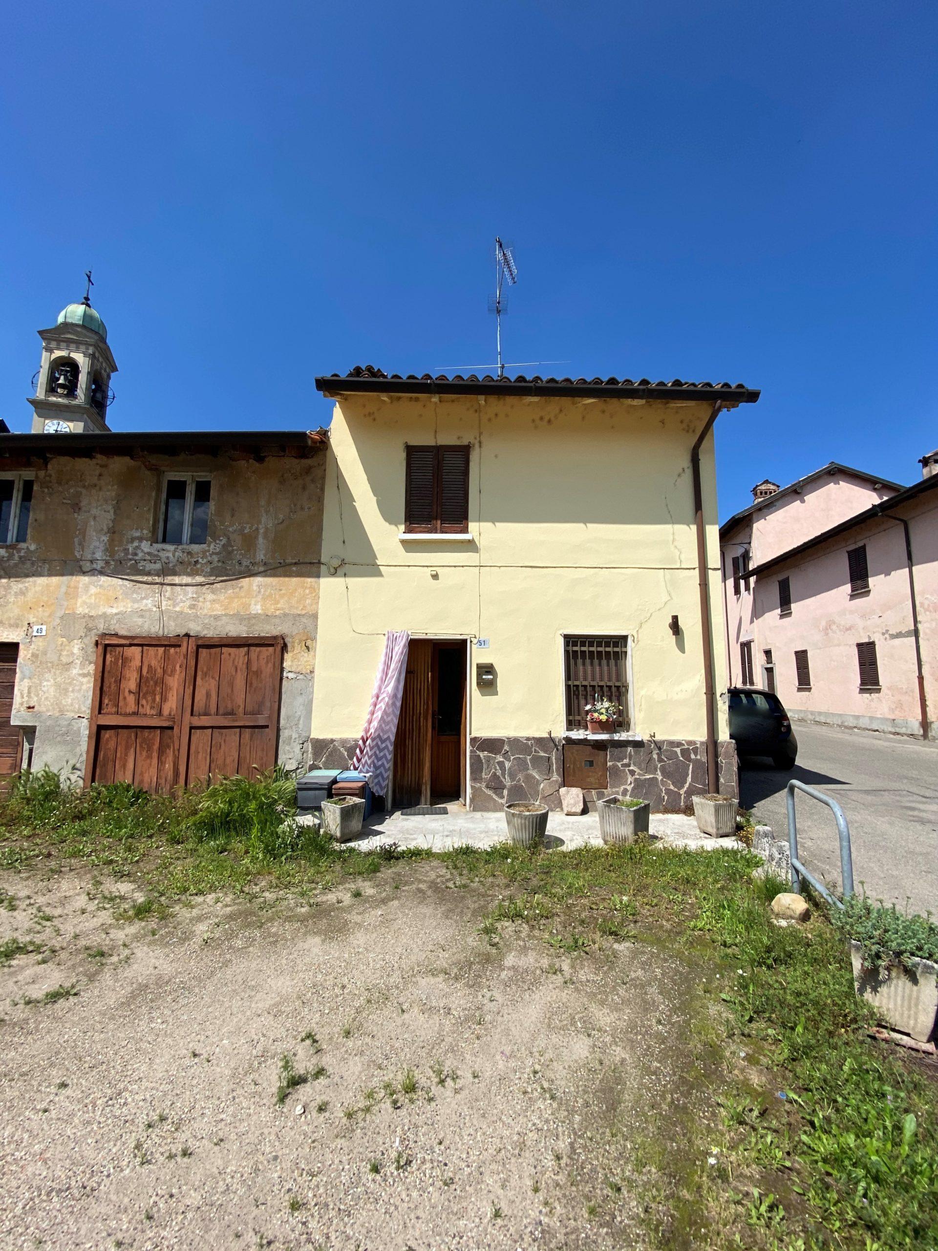 Marcignago (PV) – Terratetto di corte da ristrutturare